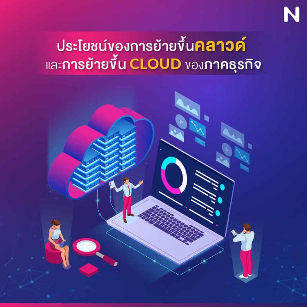 ย้าย server ขึ้น cloud